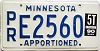 1990 Minnesota Apportioned # E2560