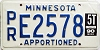 1990 Minnesota Apportioned # E2578