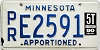 1990 Minnesota Apportioned # E2591