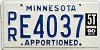 1990 Minnesota Apportioned # E4037