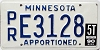 1990 Minnesota Apportioned # E3128
