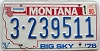 1990 Montana Bicentennial graphic # 3-239511, Yellowstone County