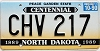 1990 North Dakota Centennial graphic # CHV-217