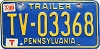 1990 Pennsylvania Trailer # TV-03368