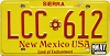 1991 New Mexico #LCC-612