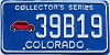 1991 Colorado Collectors Series # 39B19