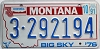 1991 Montana Bicentennial graphic # 3-292194, Yellowstone County
