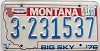 1991 Montana Bicentennial graphic # 3-231537, Yellowstone County