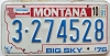 1991 Montana Bicentennial graphic # 3-274528, Yellowstone County