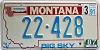 1991 Montana Bicentennial graphic # 22-428, Big Horn County