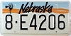 1991 Nebraska Windmill graphic # E4206, Hall County