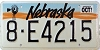 1991 Nebraska Windmill graphic # E4215, Hall County