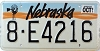 1991 Nebraska Windmill graphic # E4216, Hall County