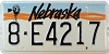 1991 Nebraska Windmill graphic # E4217, Hall County