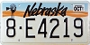 1991 Nebraska Windmill graphic # E4219, Hall County