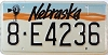 1991 Nebraska Windmill graphic # E4236, Hall County
