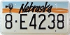 1991 Nebraska Windmill graphic # E4238, Hall County