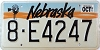 1991 Nebraska Windmill graphic # E4247, Hall County