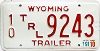1991 Wyoming Trailer # 9243, Fremont County