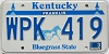 1992 Kentucky Churchhill Downs #WPK-419