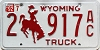 1992 Wyoming Truck #917AC, Laramie County