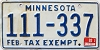 1992 Minnesota Tax Exempt # 111-337