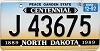 1992 North Dakota Centennial graphic # J 43675