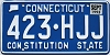 1993 Connecticut # 423-HJJ