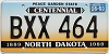 1993 North Dakota Centennial #BXX-464
