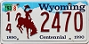 1993 Wyoming Centennial #2470, Niobrara County