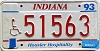 1993 Indiana Disabled # 51563