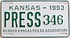 1993 Kansas Press Car # 346