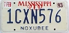 1993 Mississippi graphic # 1CXN576