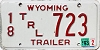 1993 Wyoming Trailer # 723, Crook County