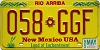 1995 New Mexico #058-GGF