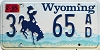1995 Wyoming #65AD, Sheridan County
