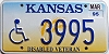 1995 Kansas Disabled Veteran graphic # 3995