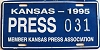 1995 Kansas Press Car # 031