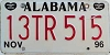 1996 Alabama Trailer # 13 TR 515