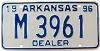 1996 Arkansas Dealer # M 3961