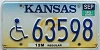 1996 Kansas Wheat Disabled graphic # 63598