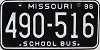 1996 Missouri School Bus # 490-516