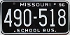 1996 Missouri School Bus # 490-518