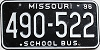 1996 Missouri School Bus # 490-522