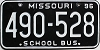 1996 Missouri School Bus # 490-528