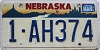 1996 Nebraska graphic # AH374, Douglas County