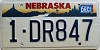 1996 Nebraska graphic # DR847, Douglas County