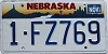 1996 Nebraska graphic # FZ769, Douglas County