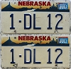 1996 Nebraska pair # DL12, Douglas County