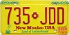 1997 New Mexico #735-JDD